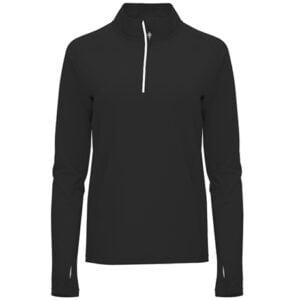 czarna bluza do biegania damska roly