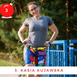 kolorowe legginsy do biegania dla kobieta pikasa