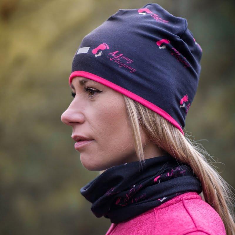 termoaktywna czapka do biegania mamy-biegamy