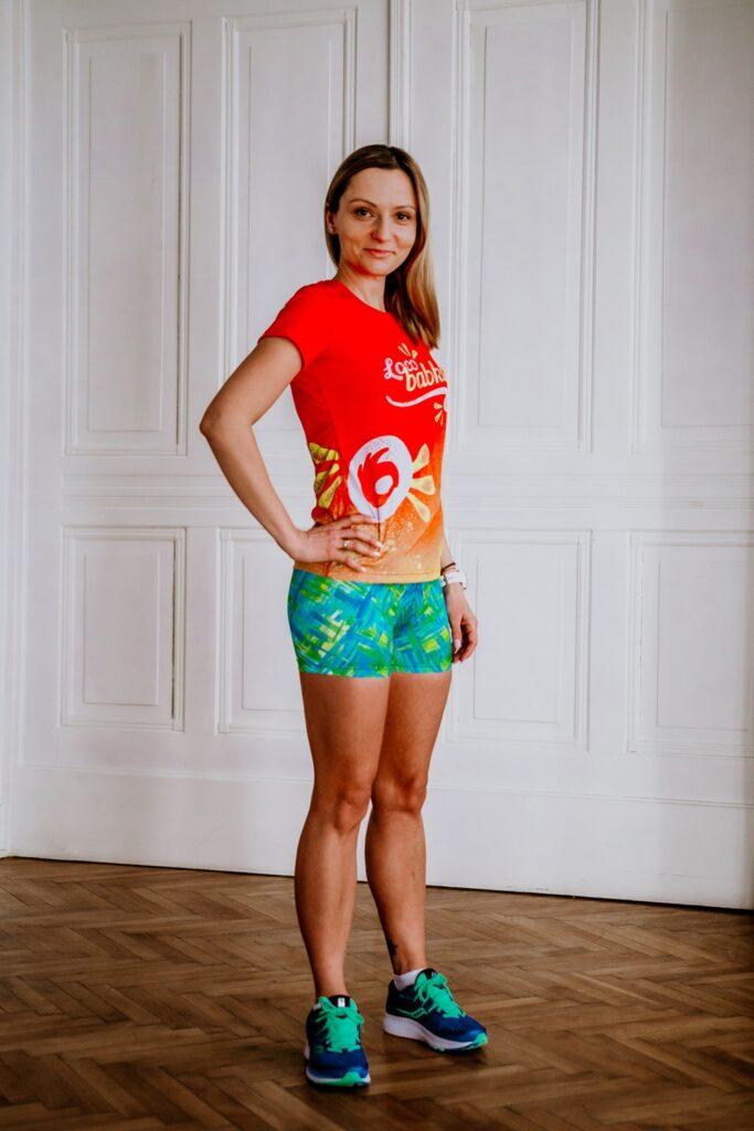 kolorowe szorty do biegania dla kobiet mohitos