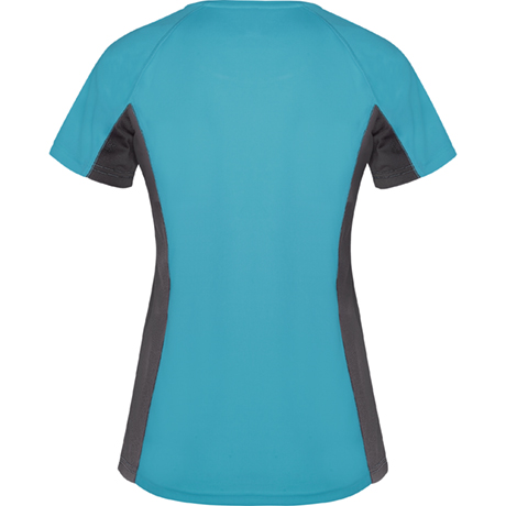 koszulka treningowa do biegania damska turkus