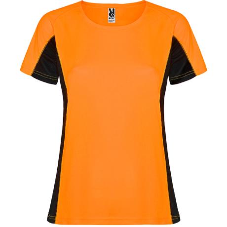 techniczna koszulka do biegania orange
