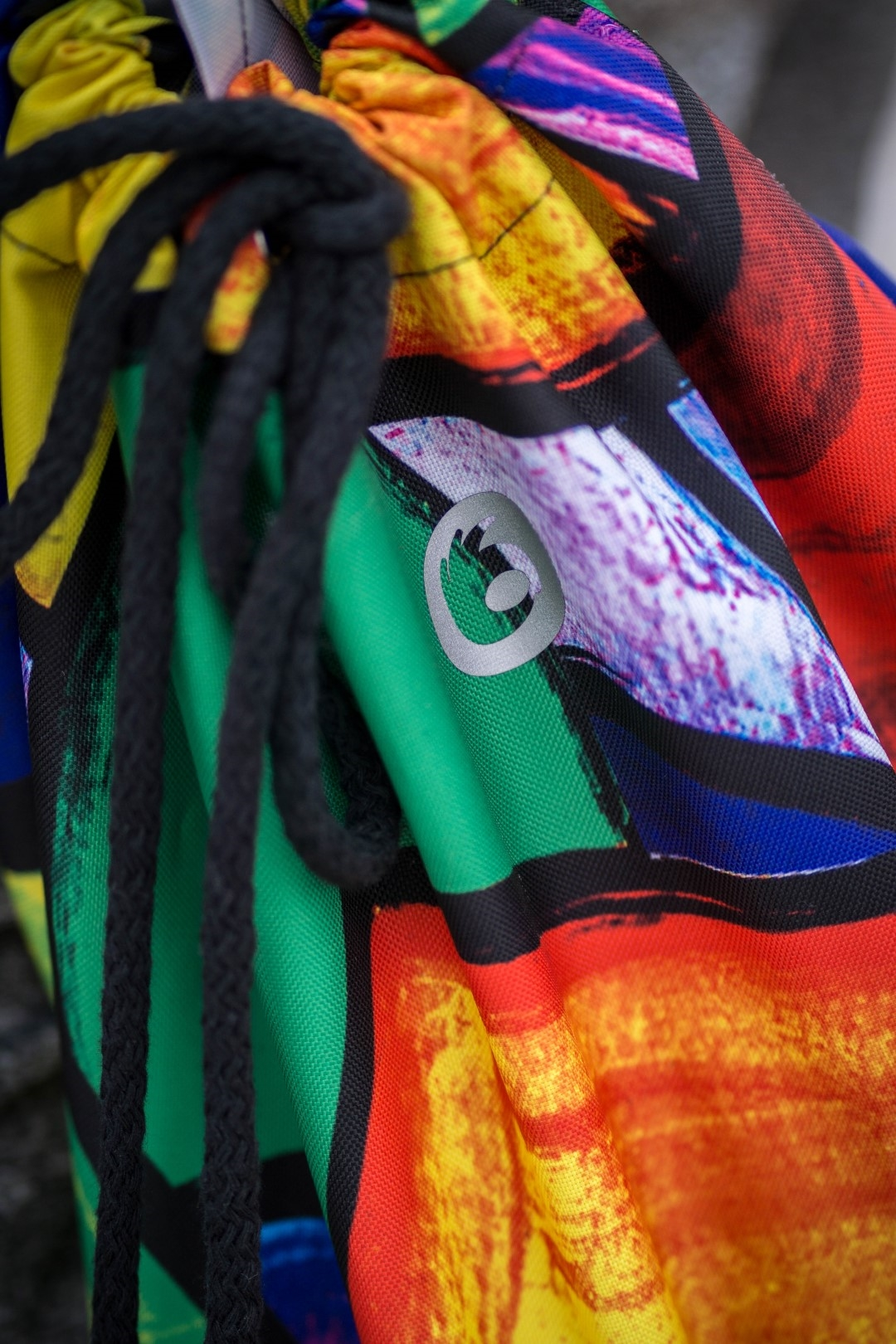 kolorowy worek marynarski pikasa