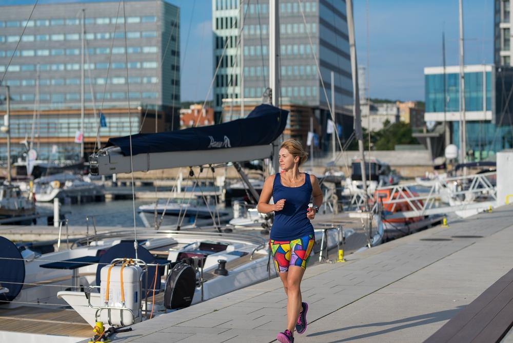 bieganie kobiet kolorowe legginsy dla kobiet