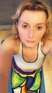 kolorowe legginsy do biegania dla kobiet pikasa
