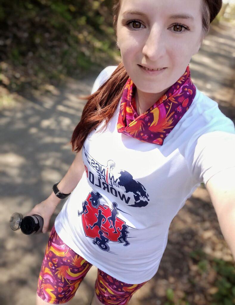 Kolorowe legginsy dla kobiet do biegania feniksy
