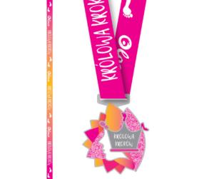 medal wyzwania królowa kroków